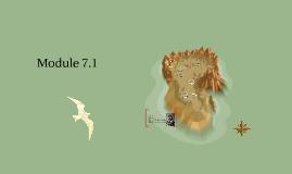 Module 7.1