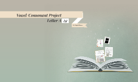 Vowel/Consonant Project