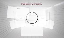 imbibicion y sineresis