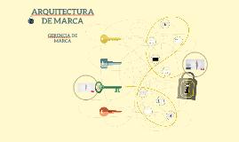 ARQUITECTUA DE MARCA
