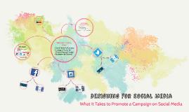 Designing for Social Media