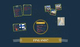 FINLAND?
