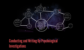 Conducting and Writing Up Psychological Investigations