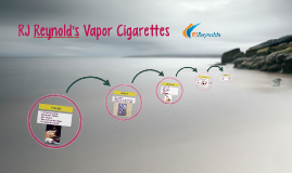 RJ Reynold's Vapor Cigarettes