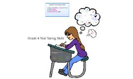 Copy of Grade 4 Test Taking Skills