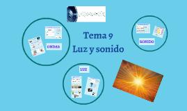 Tema 9. Luz y sonido