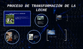 Copy of PROCESO DE TRANSFORMACIÓN DE LA LECHE