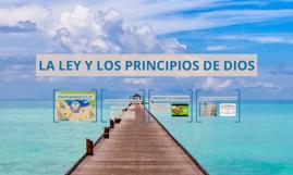 LA LEY Y LOS PRINCIPIOS DE DIOS