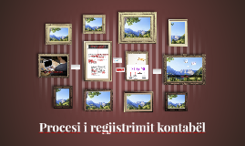 Procesi i regjistrimit kontabël