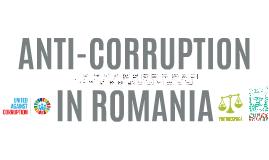 ANTI-CORRUPTION in Romania, 20+ years