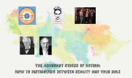 The Abundant Stress of Acting: