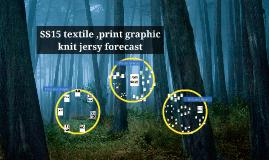 SS15 textile ,