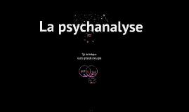 Copie de Caractéristiques de la psychanalyse.