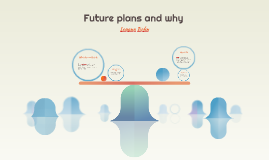 Future plans and why