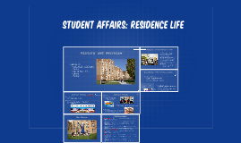 STUDENT AFFAIRS: RESIDENCE LIFE