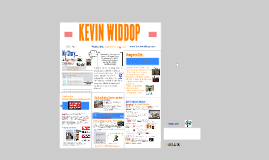 Kevin Widdop: My Story