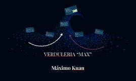 """Copy of VERDULERIA """"MAX"""""""