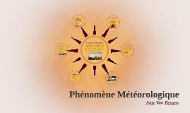 Copy of Phénomène Météorologique