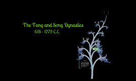 Copy of Tang & Song Dynasties