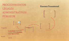 PROCEDIMIENTOS LEGALES ADMINISTRATIVOS PÚBLICOS