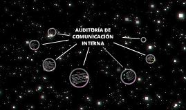 Auditoría de comunicación interna
