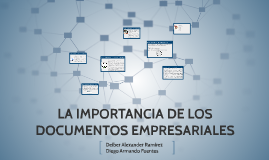 Copy of LA IMPORTANCIA DE LOS DOCUMENTOS EMPRESARIALES