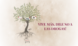 VIVE MÁS, DILE NO A LAS DROGAS!