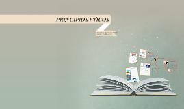 Copy of PRINCIPIOS ETICOS