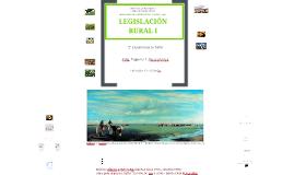 Clase presentación Legislación Rural I 2013