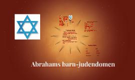 Abrahams barn-Judendomen