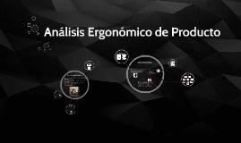 Análisis Ergonómico de Producto