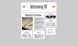 Interviewing 101
