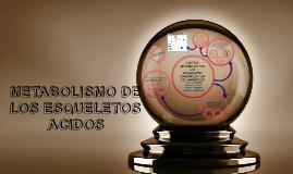 Copy of DESTINO METABOLICO DE LOS ESQUELETOS CARBONADOS DE LOS AMINO