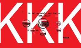 Copy of 10 Maling Akala kay Andres Bonifacio
