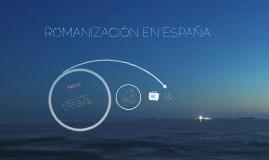 Copy of ROMANIZACION EN ESPAÑA