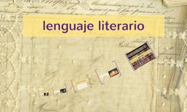 lenguaje literari