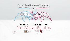 Race v. Ethnicity