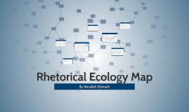 Rhetorical Ecology Map