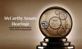 McCarthy Senate Hearing