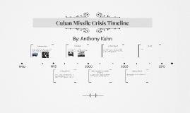 Cuban Missile Crisis Timeline