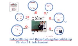SCHLEICHER: Handbuch für Lehrerbildung im 21. Jahrhundert