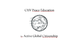 Copy of CISV Education and Evaluation Training