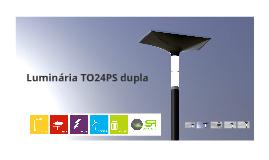 Luminária TO24PS dupla