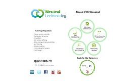 Copy of CO2 Neutral Conferencing - Corporate Presentation