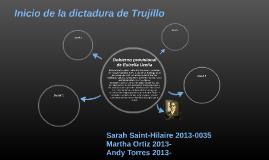 Inicio de la dictadura de Trujillo