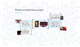 Theory of motivation project