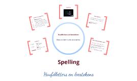 Spelling hoofdletters en leestekens