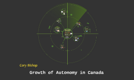 Growth of Autonomy in Canada