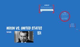 Nixon vs. United States
