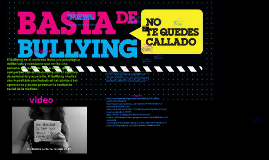 Copy of Copy of Bullying en la sociedad